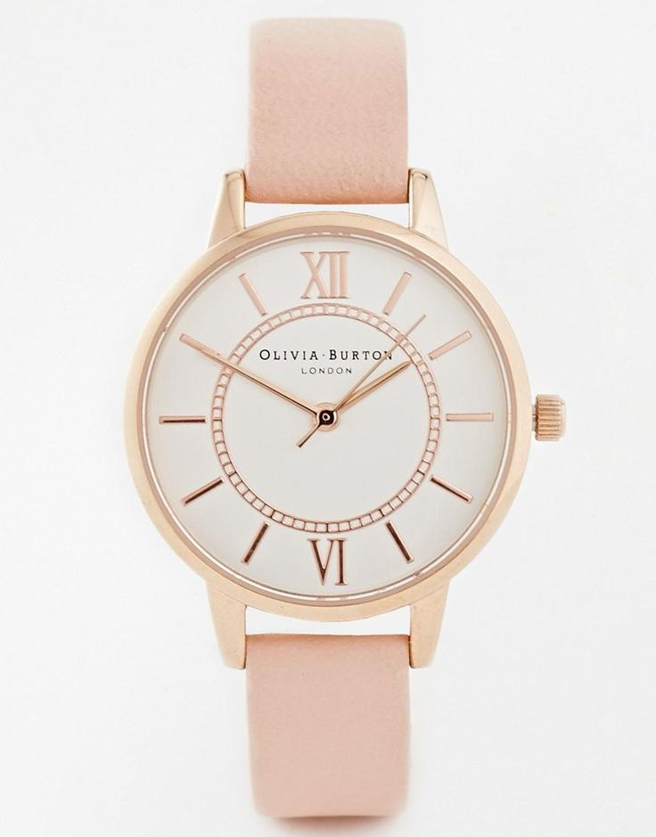 Olivia Burton | Olivia Burton Wonderland Rose Watch at ASOS