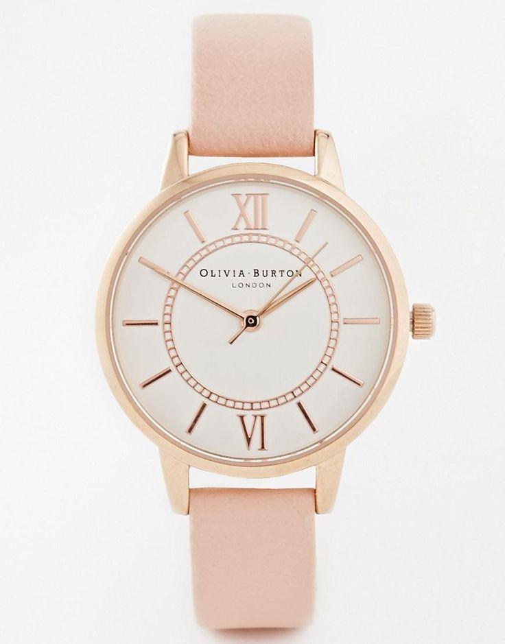 Olivia Burton | Olivia Burton Wonderland Rose Watch at ASOS