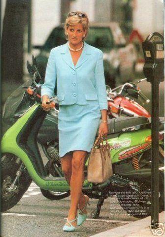 Princess Diana. Don't think she's at anything official?