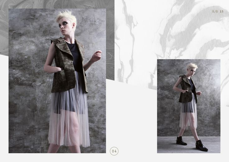 LOOKBOOK S/S 2015 - Rocker Glam collection.