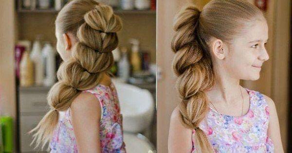 Коса принцессы Жасмин: стильный вариант для выпускного вечера.