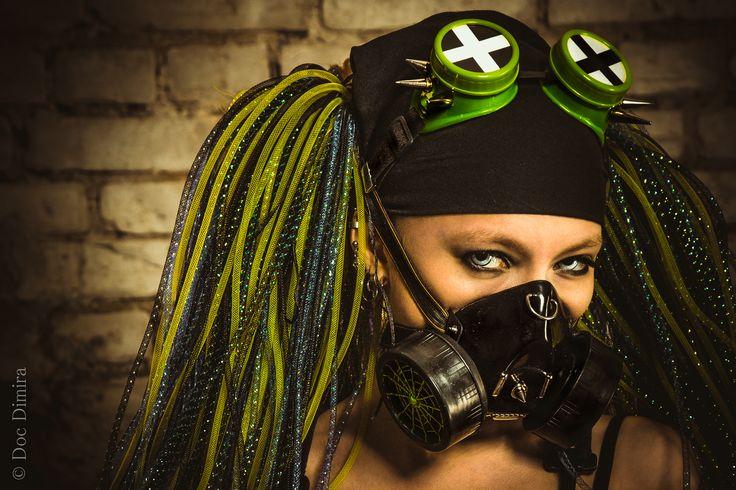 #Cybergothic #Cyber #Gothic #Model #Girl