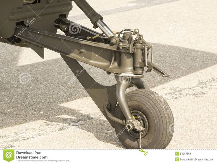 Attack Helicopter Landing Gear Stock Photo - Image: 54967559