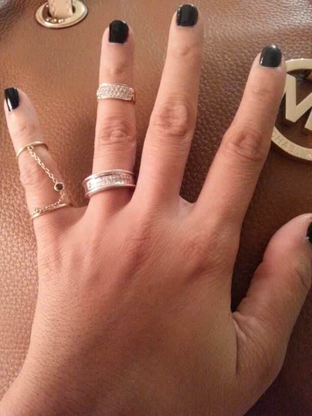 My new knuckle rings
