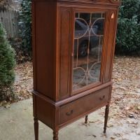 "Thrifted China Cabinet ""BEFORE"""