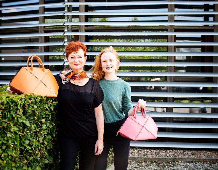 leather handbags - clara cleymans - karin jacobs - www.awardt.be