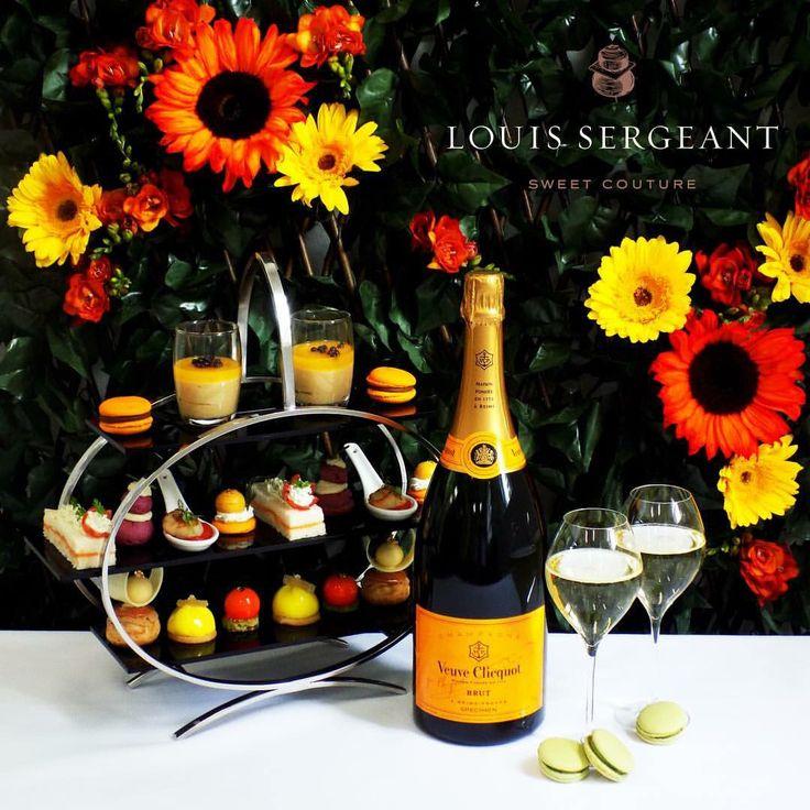 Louis Sergeant Sweet Couture. Patisserie. Veuve Clicquot High Tea