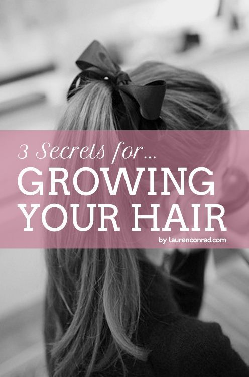secrets for growing your hair