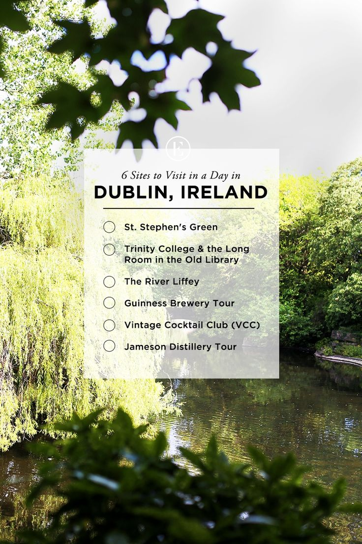 6 Sites to Visit in a Day in Dublin #theeverygirltravels