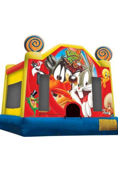 Hire the Looney Tunes bouncy castle from only $180 for a 4 hour period or if you require a little longer then why not upgrade to a 7 hour hire for only an extra $40. We deliver to all suburbs within a 35Km radius of Port Kennedy.  #looneytunes #cartoons #inflatable #bouncy #castles #play #toys #kids
