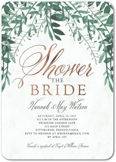 Wedding Paper Divas Bridal Shower Invitations Get A Coupon For Up To 20