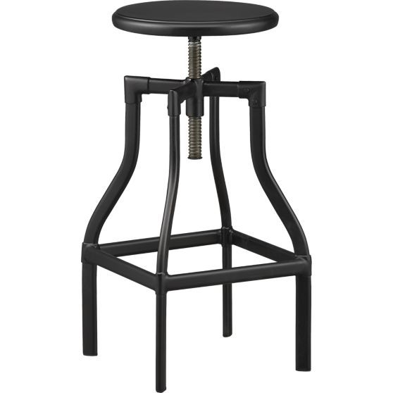 Turner Black 24 u201330  Bar Stool | Crate and Barrel ...  sc 1 st  Pinterest & 258 best Home Items images on Pinterest | Pottery barn Christmas ... islam-shia.org