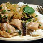 Thai Chicken with Basil Stir Fry RecipeThai Food, Stir Fries Recipe, Thai Chicken, Fries Allrecipescom, Basil Stir, Stirfry Recipe, Stir Fry Recipes, Favorite Recipe, Allrecipes Com