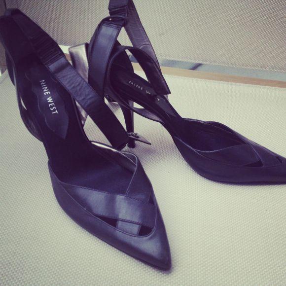 Nine West ankle strap heels  The Fashion Huntress