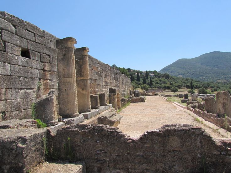 Messene – GREECE - Settled since ancient times, it came to prominence in 369 BC after the defeat of the Spartans by the Theban General Epaminondas. The walls constructed at this time then protected the settlement for nearly 500 years, although the Romans among other people did move in and change a few things.