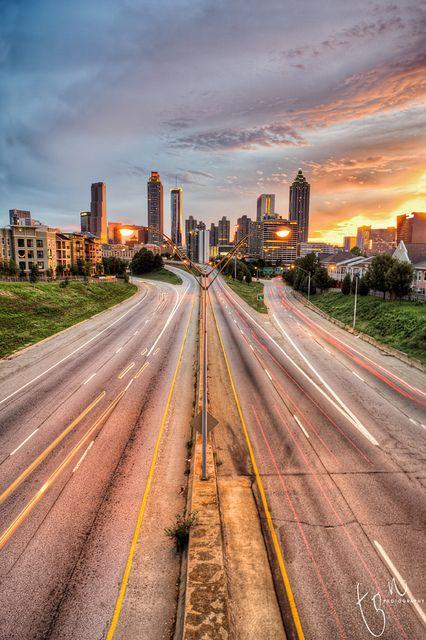 Atlanta Skyline by Ton Ten, via Flickr