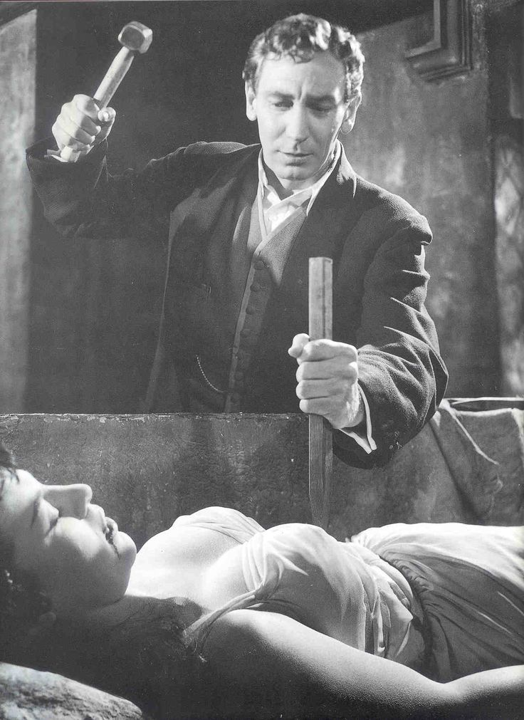 The Original Dracula By Hammer Studios.. Black And White