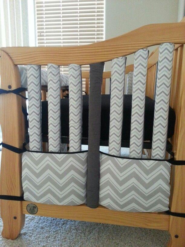 Home Made Crib Bumper A K A Wonder Bumpers Repurposed