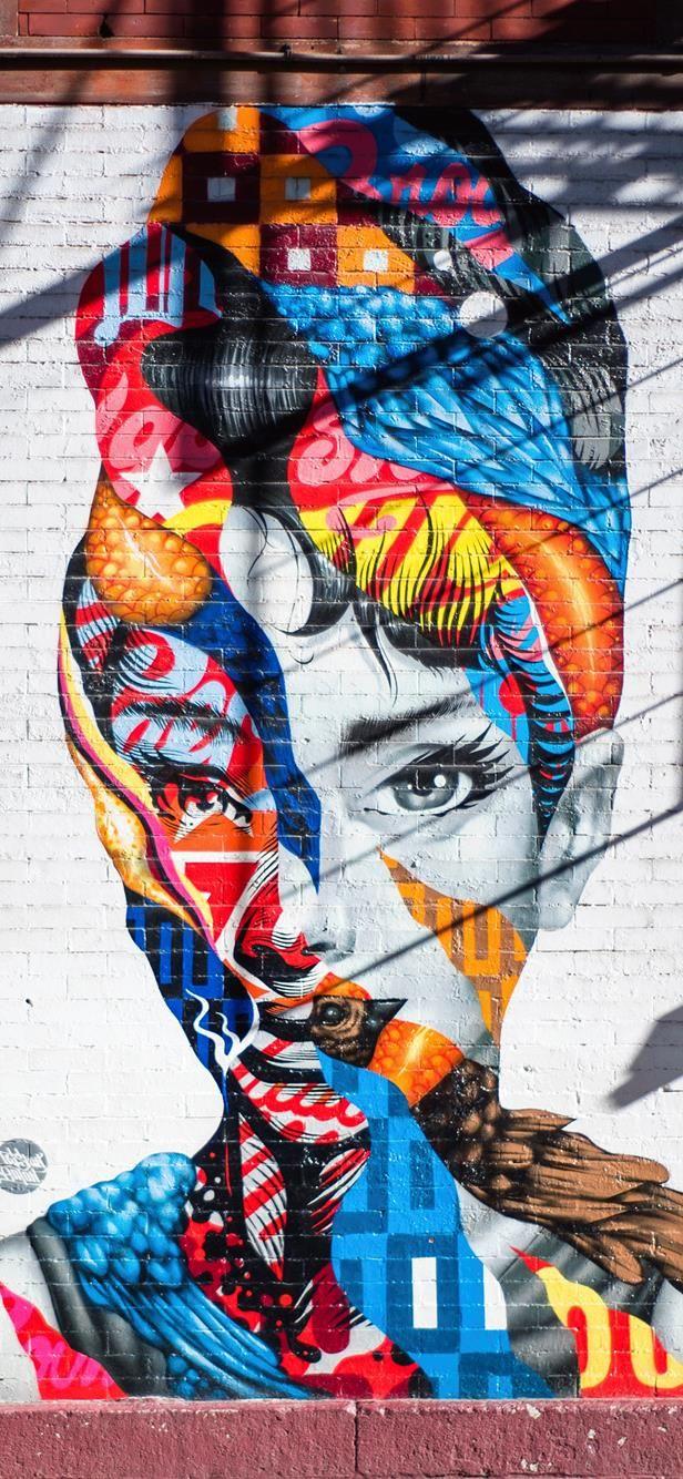graffiti audrey hepburn wallpaper iphone wp in 2019 graffitigraffiti audrey hepburn wallpaper iphone