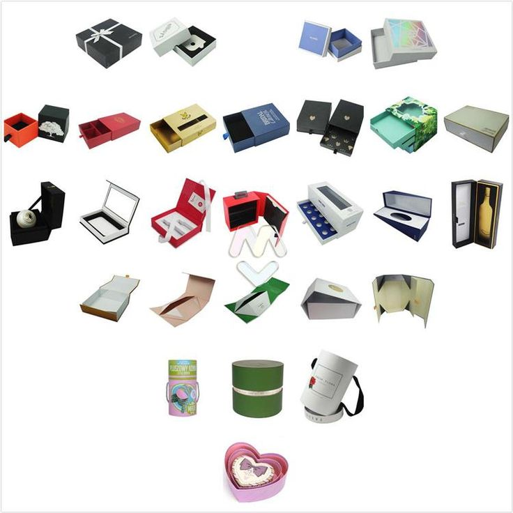 Fancy Popular Rigid Cardboard Gift Boxes Collection