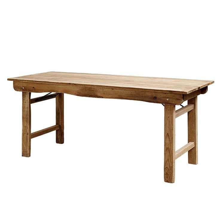 Tisch Klapptisch Holz Von Nordal