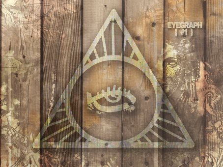 All-seing Eye #1: Antique #wood #old #symbol