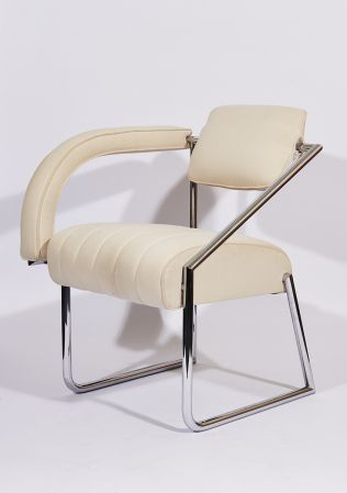 Eileen Gray (Irish, 1879-1976)  Non-Conformist Chair, designed 1926