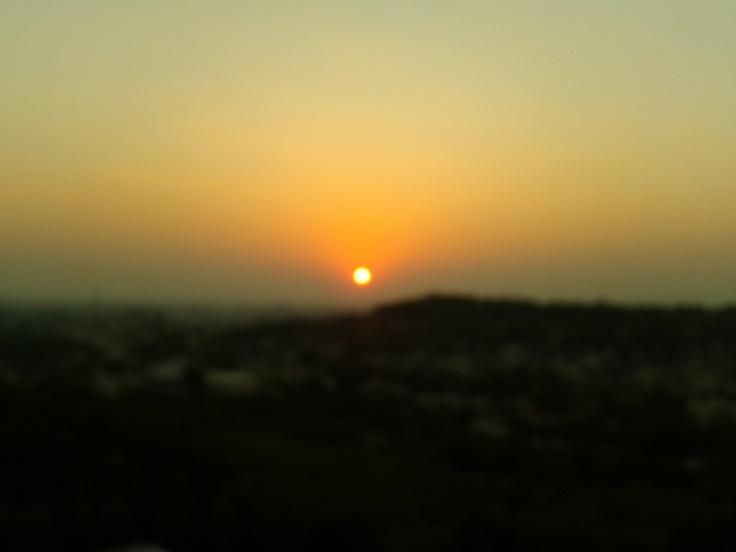 Sunset  Place (Girnar,Junagadh,Gujarat.India)