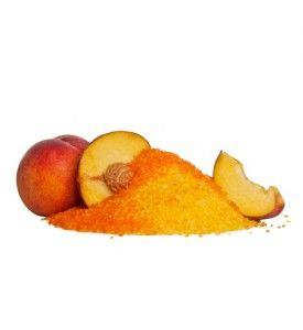 Peach badesalt