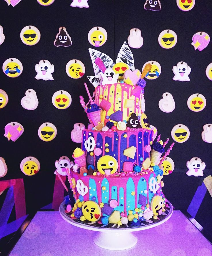Emoji Birthday Cake Tesco