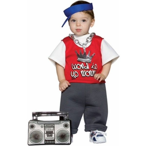 Infant Rapper Costume