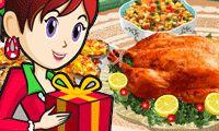 Casita de jengibre: Cocina con Sara - Un juego gratis para chicas en JuegosdeChicas.com