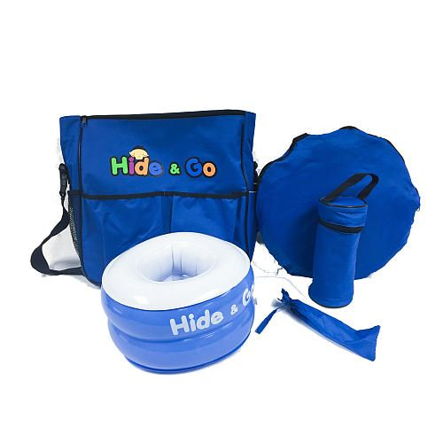"Hide And Go Portable Potty Training Set - Distribution Solutions - Babies ""R"" Us"