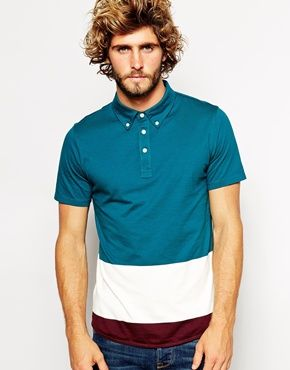 Enlarge Paul Smith Jeans Polo Shirt with Colour Block
