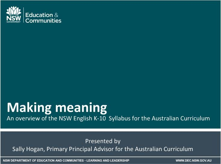 Adobe Connect - making meaning of the english syllabus https://connect.schools.nsw.edu.au/p9sp4qg9g5r/?launcher=false&fcsContent=true&pbMode=normal