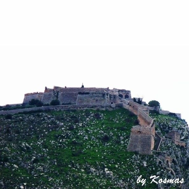 The Fortress of Palamidi with the 999 steps from the town of Nafplio. Photo from our vacation in January 2011.  #seaview #Greece #sea #nature #ilovesea #blue #summer #summervacations  #fortress #ancientgreece #instagrampics #castle