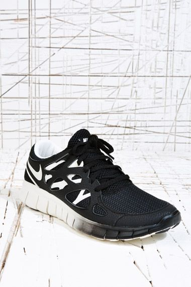 Nike Free Run Trainers in Black at Urban Outfitters