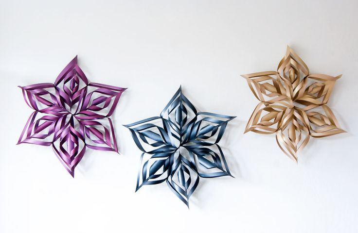 DIY- Ginormous snowflake decorations- supposedly easy, we'll see about that.