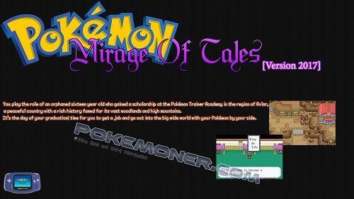 Pokemon Mirage Of Tales (Version 2017)