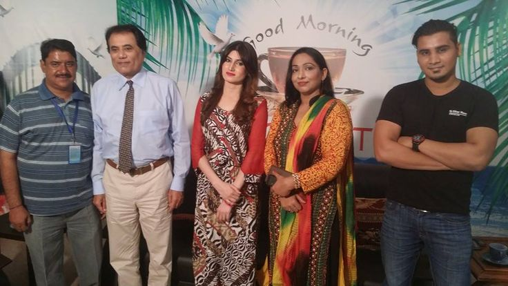 #host #Diya #khan & #Zunaira #good #morning #manchester #live on #Dm #digital #tv #network #Guest: Pro. Dr. Atif Kazmi (Dermotologist), Samina Syed Poet/Writer), Imran Ali (Singer)