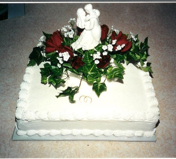 Sheet Cake Decorated With Flowers : Finally, a flower decorated sheet cake! Wedding Cakes ...