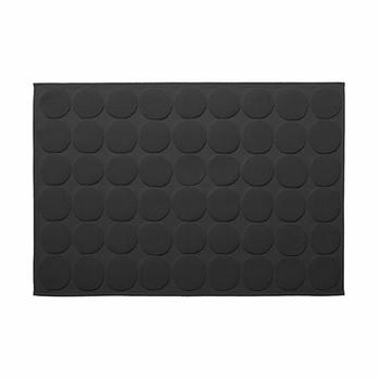 Marimekko Kivet Black Bath Mat.