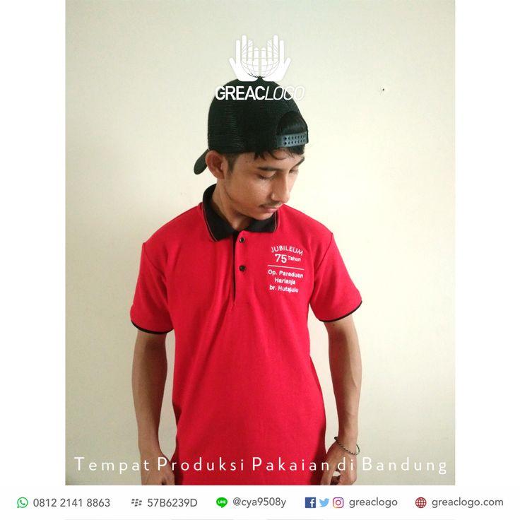 Polo Jubileum 75 Tahun /  Konveksi Bandung / 0812 2141 8863 / BB : 57B6239D / LINE @cya9508y