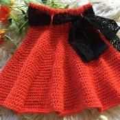 """Twirly Girl skirt - would be cute as a """"poodle skirt""""!"""