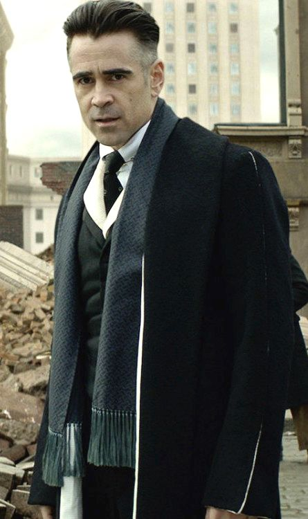 Colin Farrell as Graves from 'Fantastic Beasts and Where To Find Them' (2016). Costume Designer: Colleen Atwood