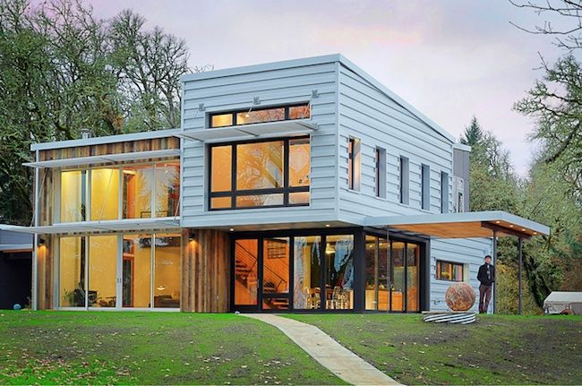 All Natural: A house exemplifies passive strategies and embraces non-toxic materials. - Best Green Houses - Greensource Magazine