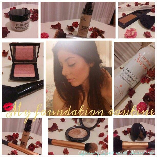 Νέο ποστ στο #blοg!!Βήμα-βήμα η διαδικασία που ακολουθώ για μια αψεγάδιαστη #βάση μακιγιάζ! ❤  Διαβάστε εδώ: http://beautytalkwithnikoletta.blogspot.gr/2015/04/makeupbeginner.html?m=0