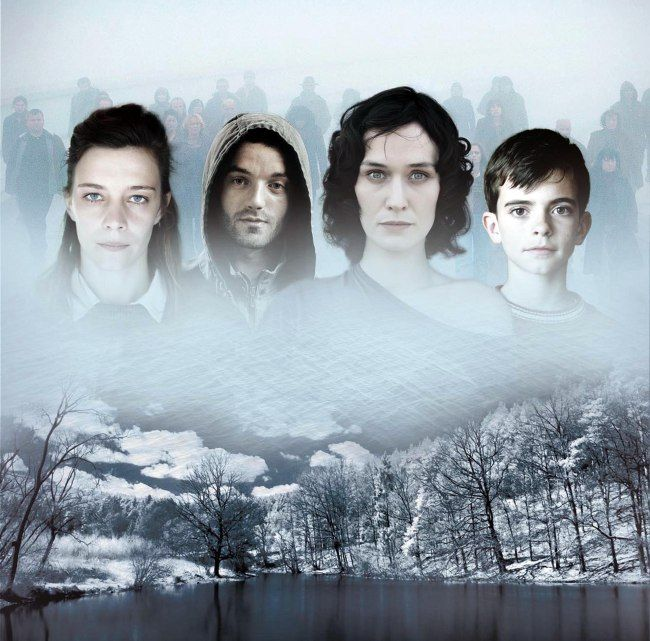 The Returned -French show but superbly interesting  even with the subtitles .
