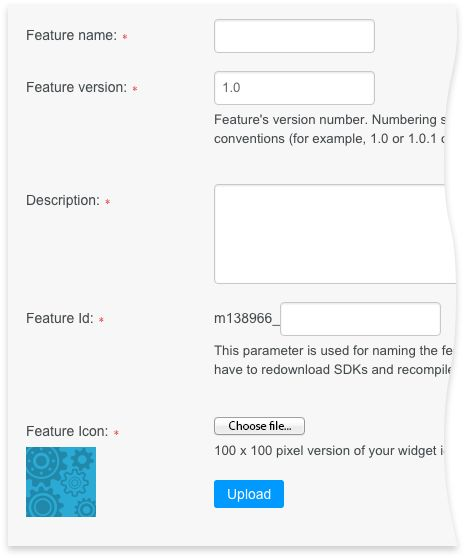 How to Create Custom Feature