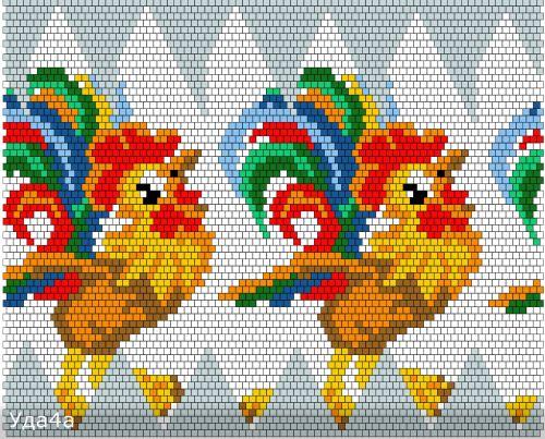 Схемы для обвязанных яиц   biser.info - всё о бисере и бисерном творчестве